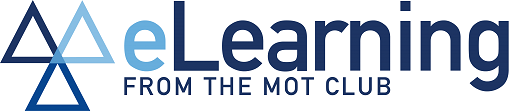 eLearning from The MOT Club Logo